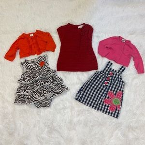 $12 Sale Lot of Girls Dresses 3M